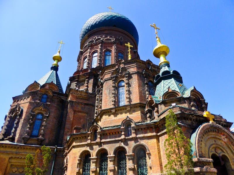 Церковь Sophia Святого Харбин стоковое фото