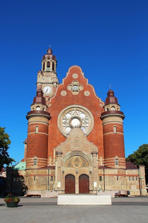 Церковь St. Джон, Malmo стоковое изображение