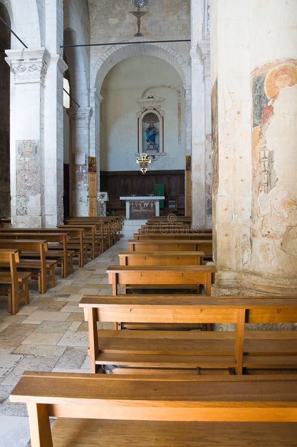 Церковь St. Марии Maggiore. Monte Sant'Angelo. Puglia. Италия. стоковые фотографии rf