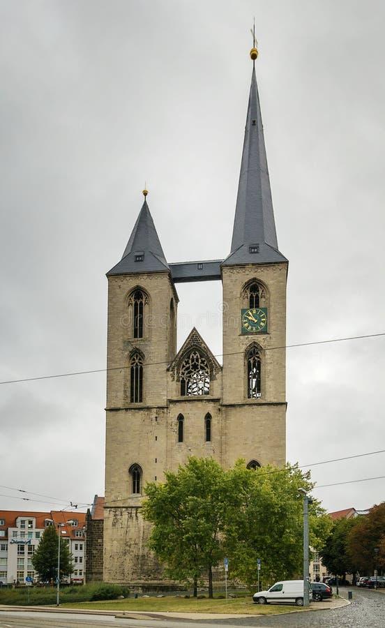 Церковь St Мартини, Halberstadt, Германия стоковые фотографии rf