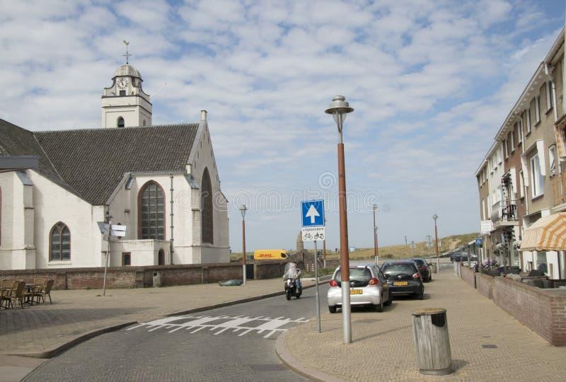 Церковь St Andreas в центре стоковое изображение rf