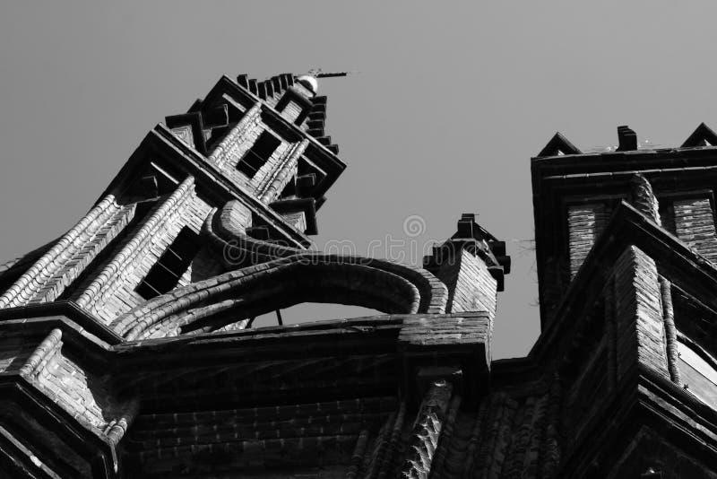 Церковь St Anne в Вильнюс стоковые изображения