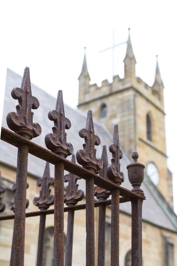 Церковь St Anne в Ryde, Австралии стоковые изображения