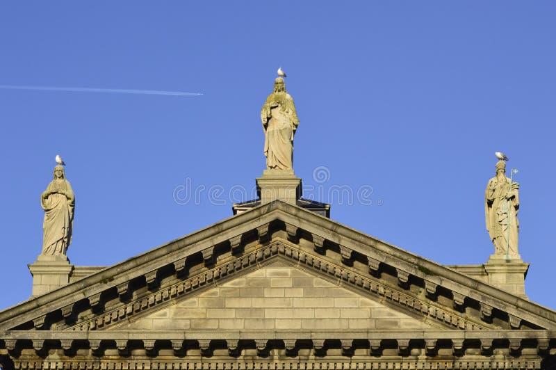Церковь St Audoen стоковое изображение rf
