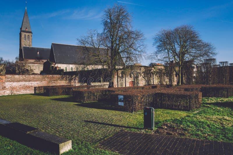 Церковь St Bavo в Генте стоковые фото