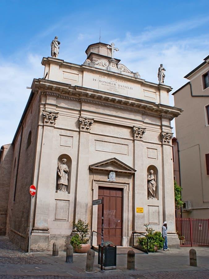 Церковь St Daniele стоковое фото