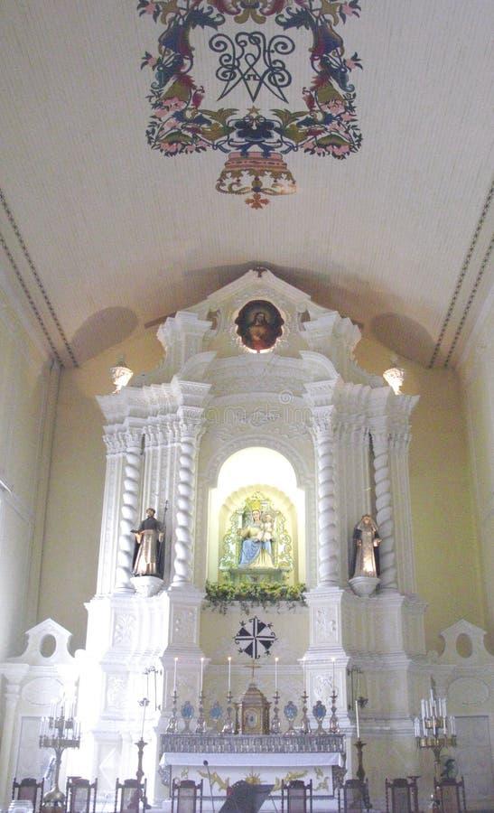 Церковь St Dominic в Макао стоковое фото