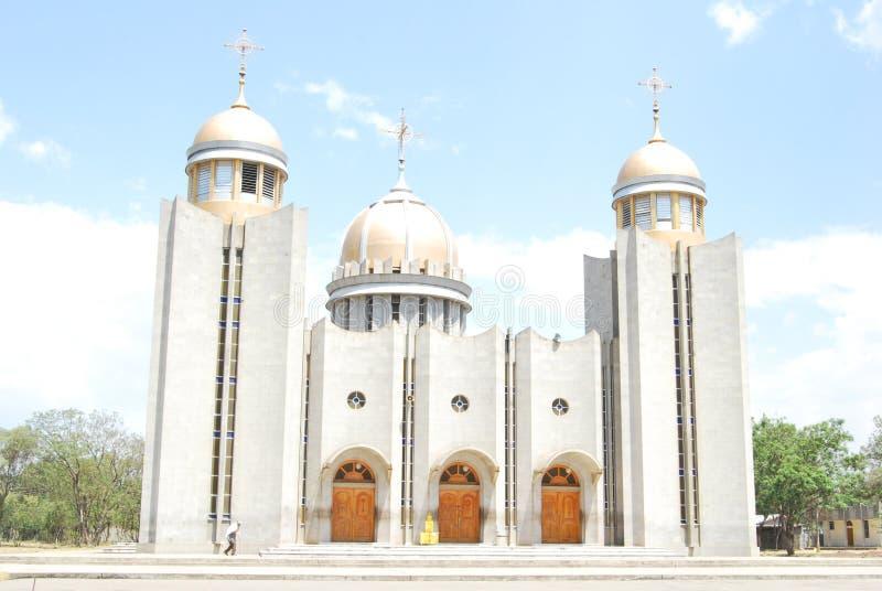 Церковь St Gabriel, Hawassa, Эфиопия стоковое изображение