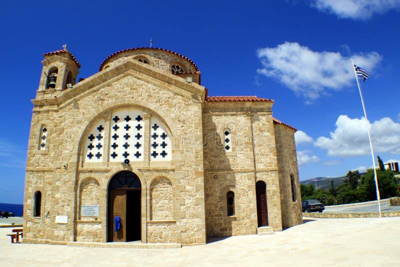 Церковь St. George в Paphos, Кипре стоковые фото