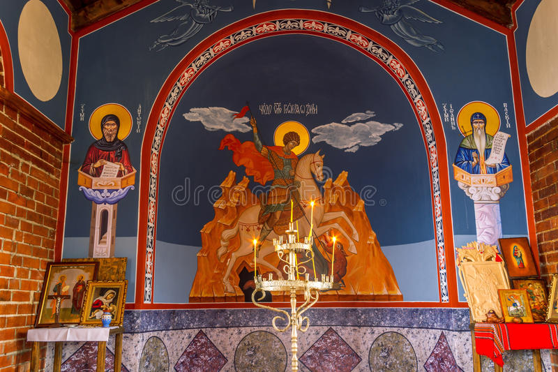 Церковь St. George на Болгарии стоковые изображения