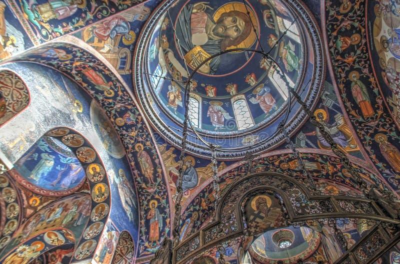 Церковь St. George на Oplenac, Сербии стоковая фотография rf