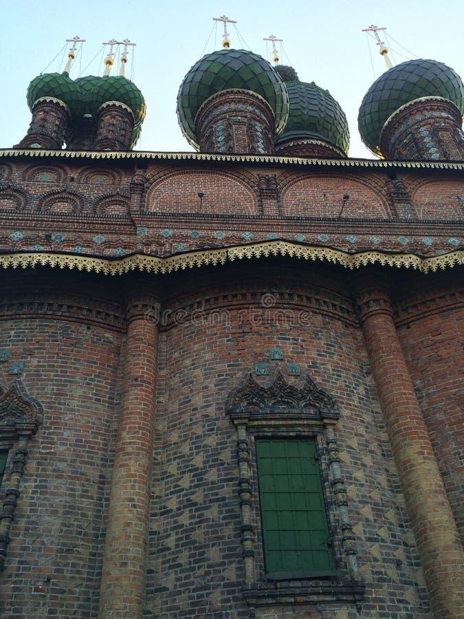 Церковь St. John в Yaroslavl стоковые изображения rf