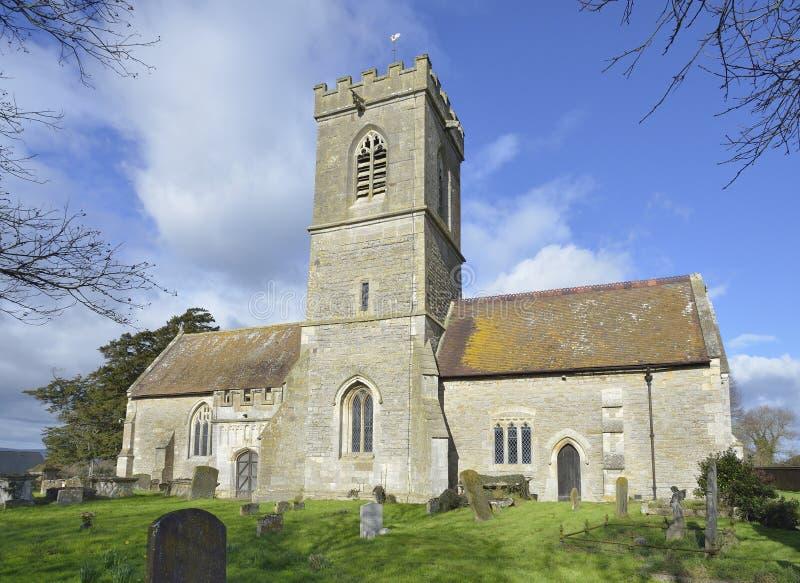 Церковь St Laurence, Longney стоковое фото