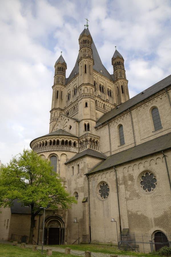 Download Церковь St Martin Cologne Германия Стоковое Изображение - изображение насчитывающей церковь, martin: 40575615