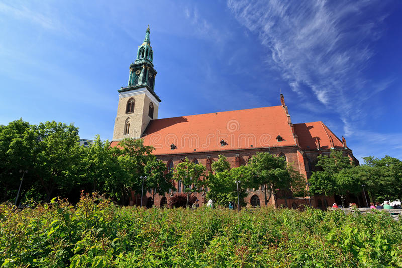 Церковь St Mary стоковое фото