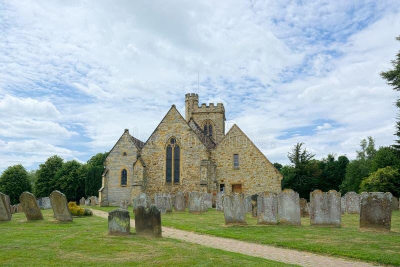 Церковь St Mary, Leigh, Кента r стоковые фото