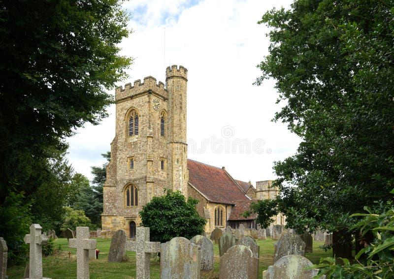 Церковь St Mary, Leigh, Кент r стоковое фото