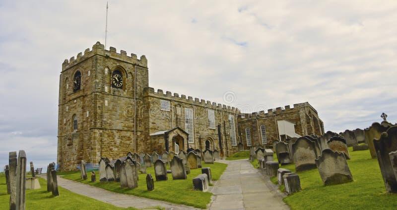 Церковь St Mary, Whitby стоковые изображения rf