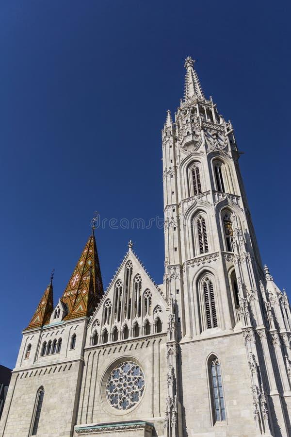 Церковь St Matthias стоковые фотографии rf