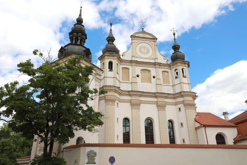 Церковь St Michael Архангел в Вильнюсе, Литве стоковое изображение