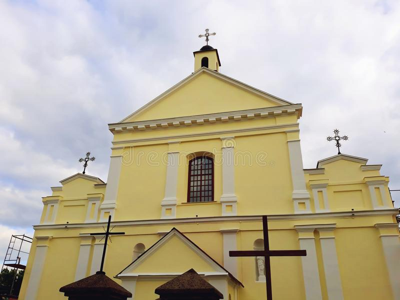 Церковь St Michael Архангел стоковые фото