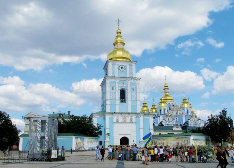 Церковь St Michael, Киев, Украина стоковое фото