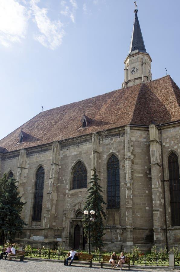 Церковь St Michael, Cluj, Румыния стоковое фото
