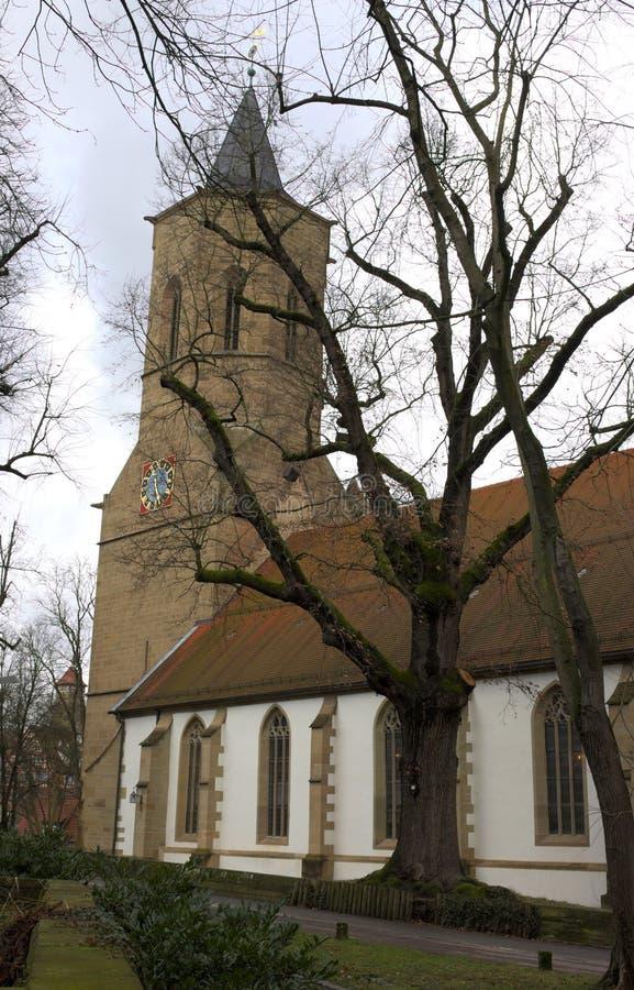 Церковь St Michael - I - Wailblingen - Германия стоковое изображение