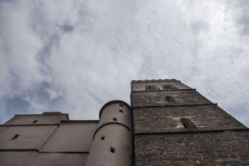 Церковь St Moritz стоковые изображения