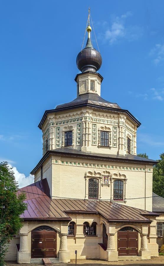 Церковь St Nicholas, Toropets стоковые изображения rf