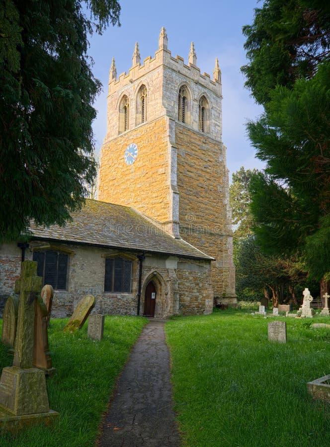 Церковь St Nicolas, большее Coates, Линкольншир, Великобритания стоковые изображения