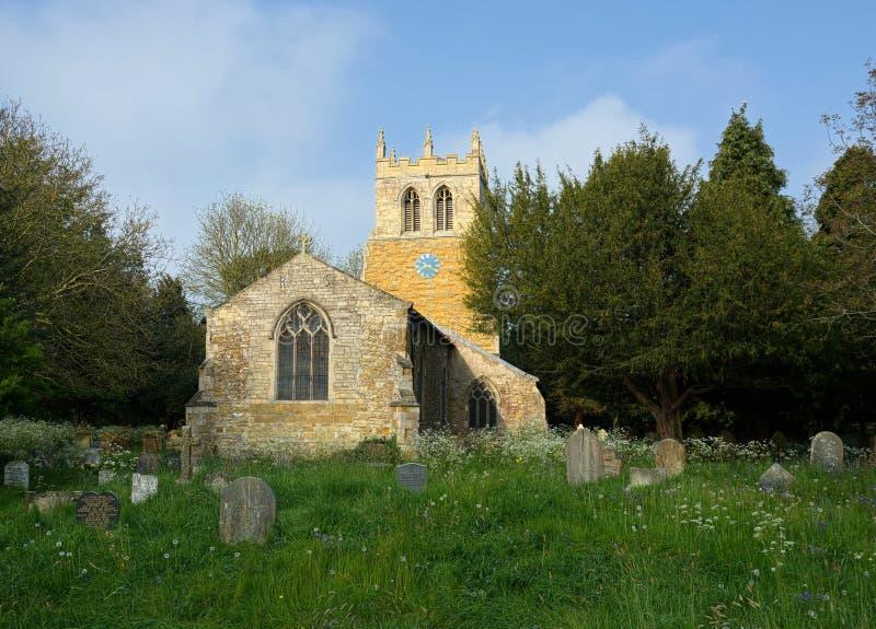 Церковь St Nicolas, большее Coates, Линкольншир, Великобритания стоковое изображение