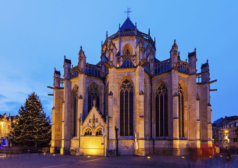 Церковь St Peter в лёвене стоковые изображения rf