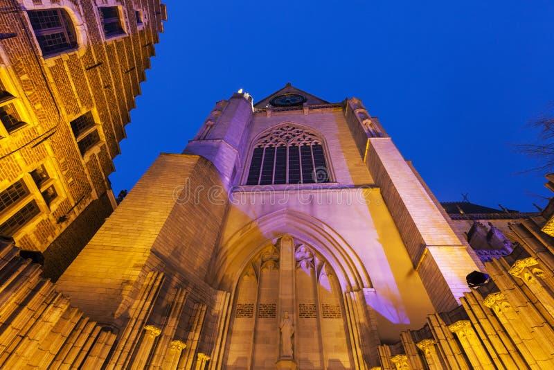 Церковь St Peter в лёвене стоковое фото rf
