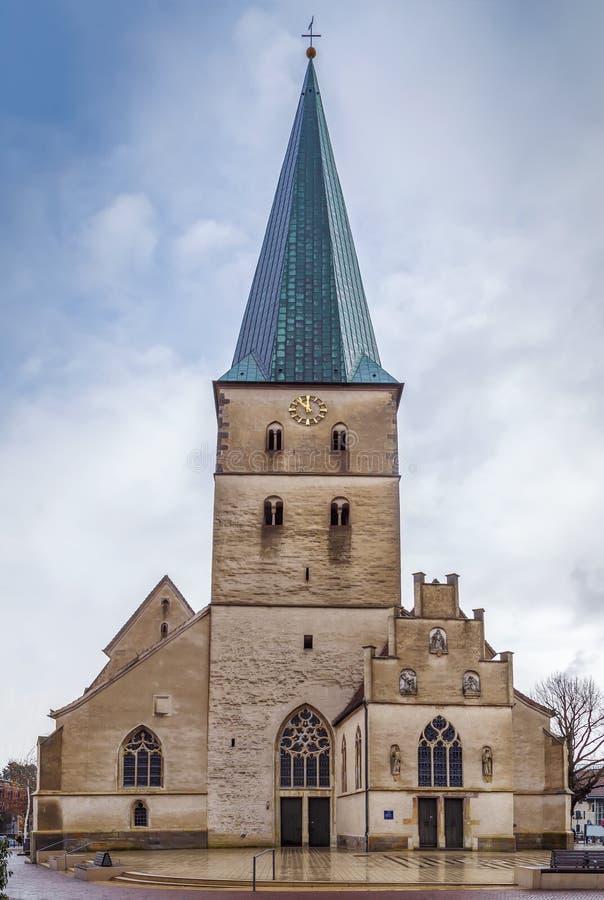 Церковь St Remigius, Borken, Германия стоковые фотографии rf