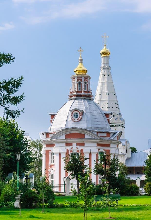 Церковь St Sergius Lavra святой троицы стоковая фотография