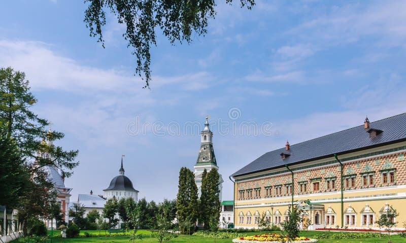 Церковь St Sergius Lavra святой троицы стоковые фото