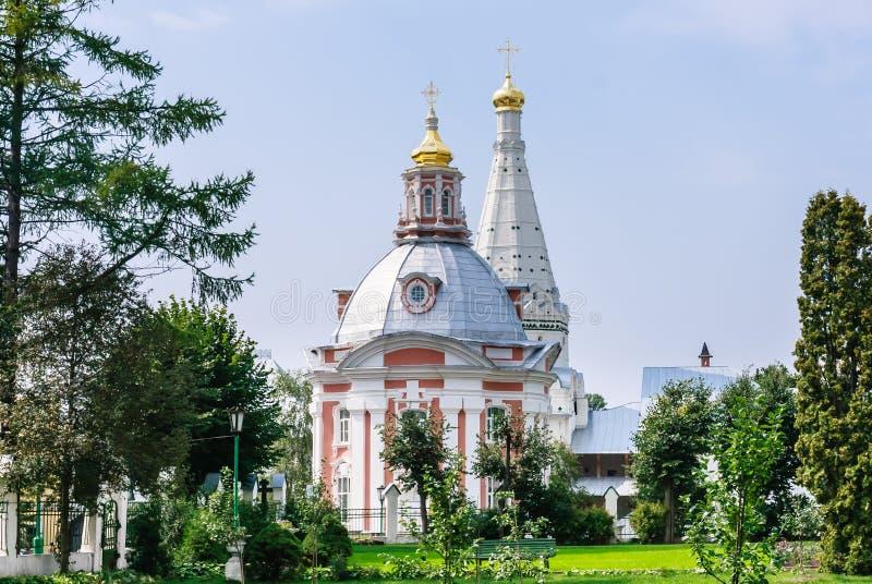 Церковь St Sergius Lavra святой троицы стоковое фото rf