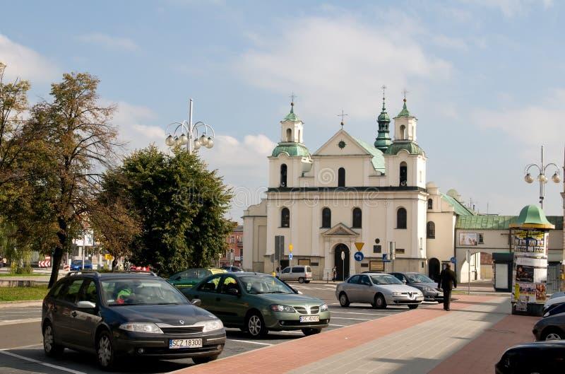 Церковь St Sigismund в Czestochowa - Польше стоковая фотография rf