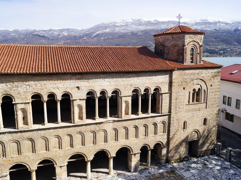 Церковь St Sophia в Ohrid стоковая фотография