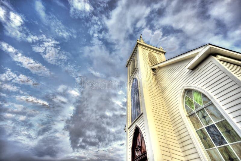 Церковь St Teresa Авила, Bodega, CA стоковое фото rf