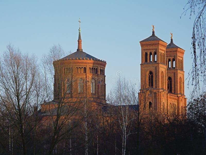Церковь St. Thomas, Берлин стоковые фотографии rf