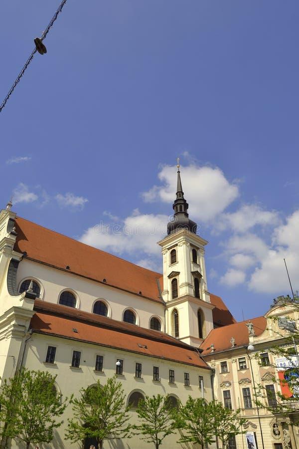 Церковь St. Thomas во Брне стоковые фото