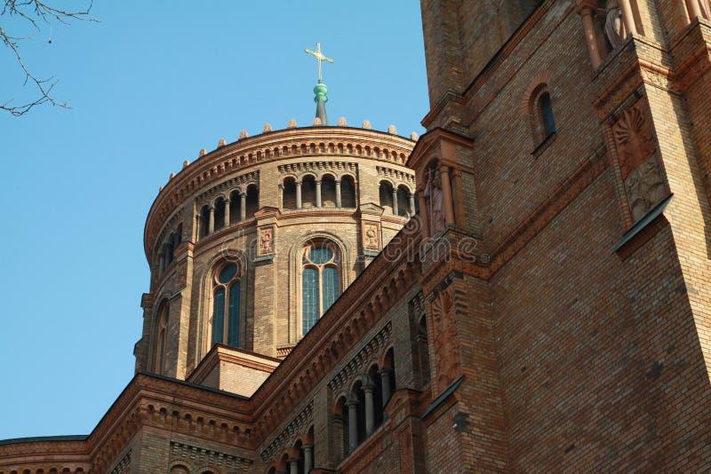 Церковь St. Thomas в Берлин. стоковое изображение