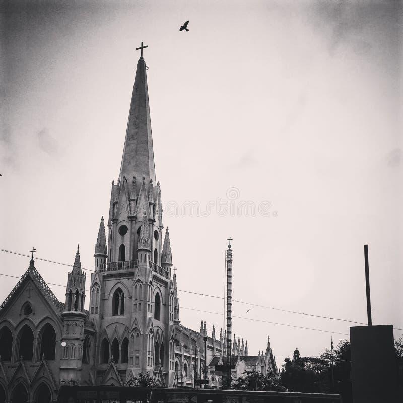 Церковь St Thomas стоковые изображения rf