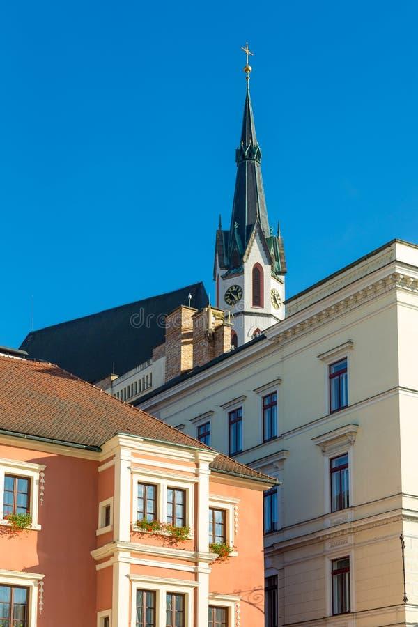Церковь St Vaclav стоковые фото
