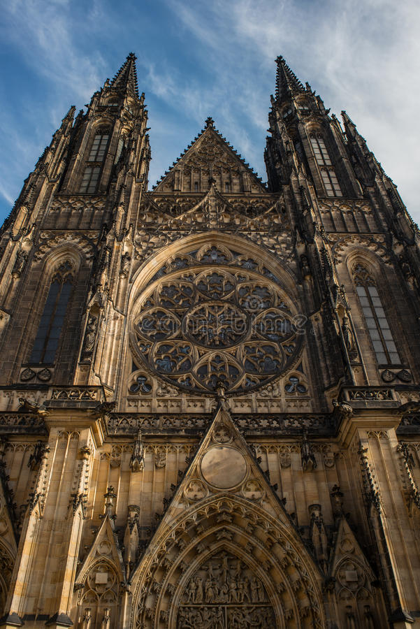 Церковь St Vitus стоковое изображение rf