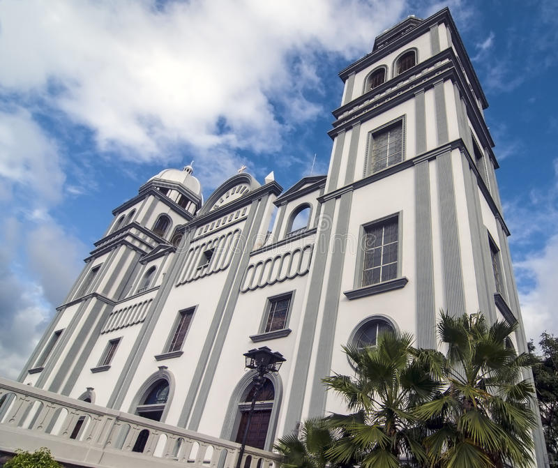 Церковь Suyapa, Гондураса стоковые изображения