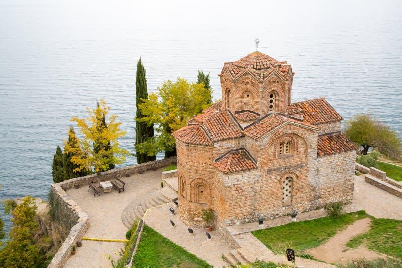 Церковь Sveti (Святого) Jovan Kaneo стоковое фото rf