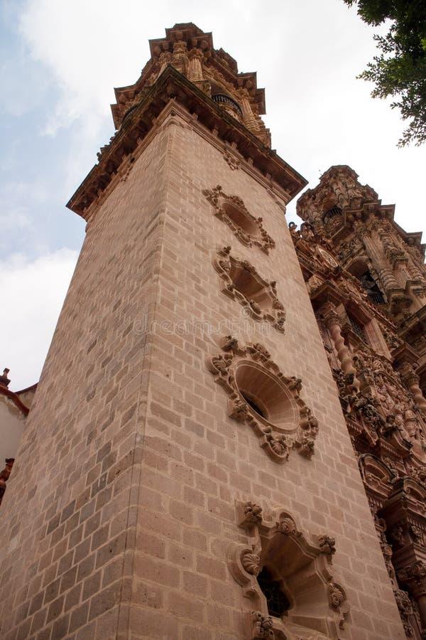 Церковь Taxco Санты Prisca стоковая фотография